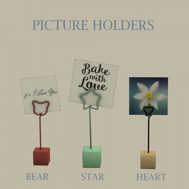 Picture Holders by leo-sims