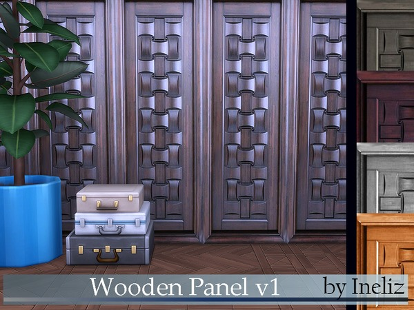 Wooden Panel v1 by Ineliz