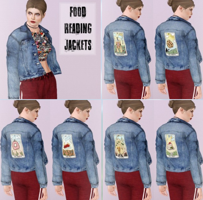 Jackets - Food Reading by Descargassims