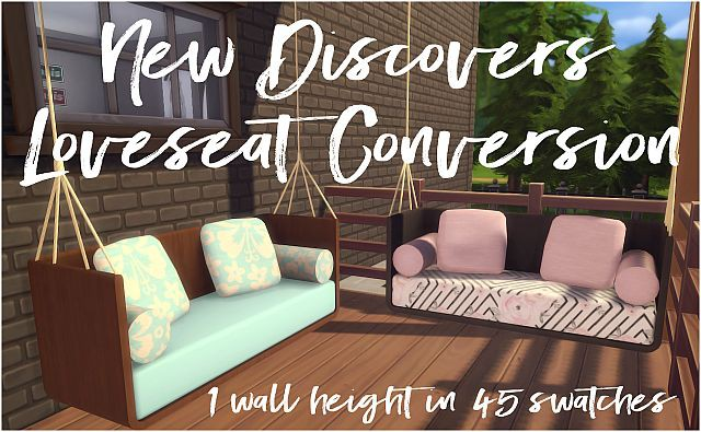 New Discovers Loveseat by Sympxls