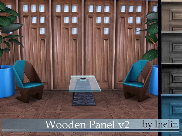 Wooden Panel v2 by Ineliz