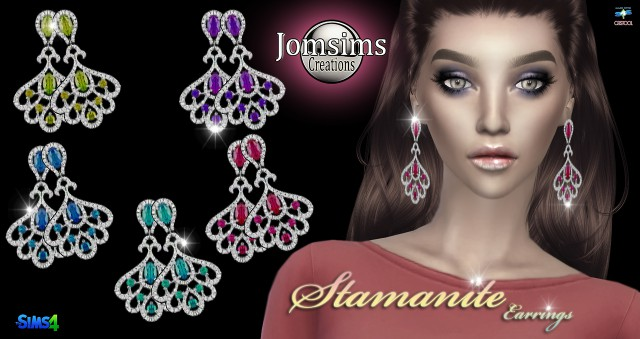 Stamanite earrings by jomsims