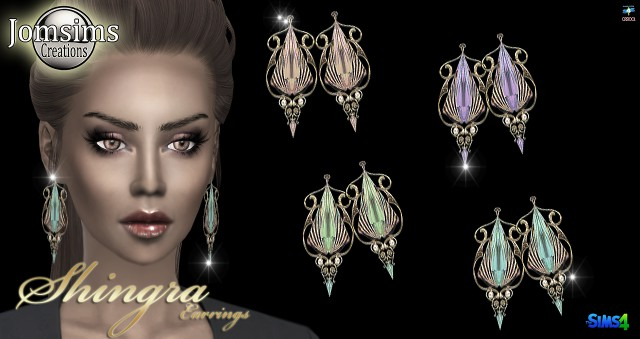 Shingra earrings by jomsims