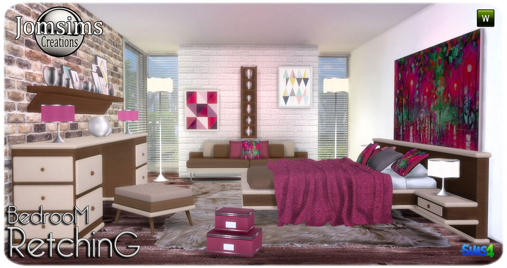 Retching bedroom by JomSims