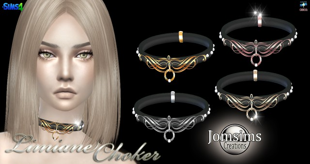 Limiane choker by jomsims
