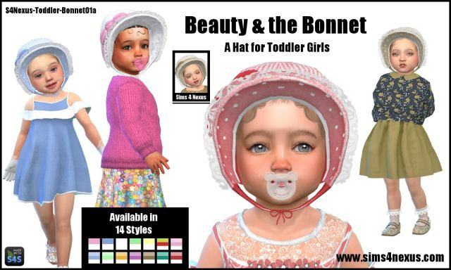 Beauty & the Bonnet by Sims4Nexus