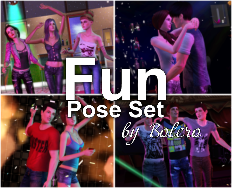 Fun Pose Set by Bolero
