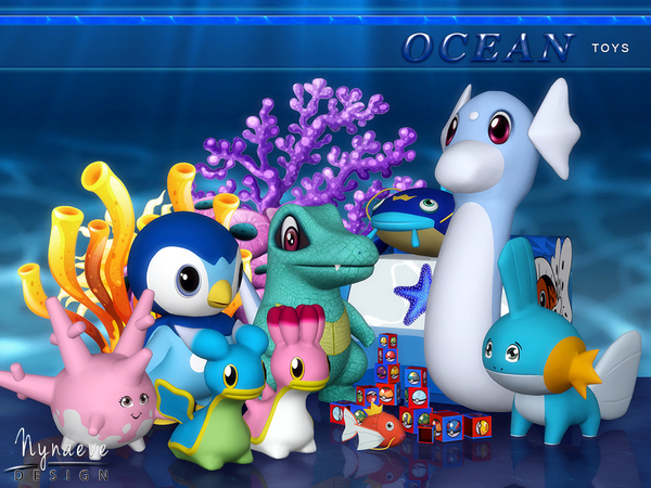 Ocean Toys by NynaeveDesign