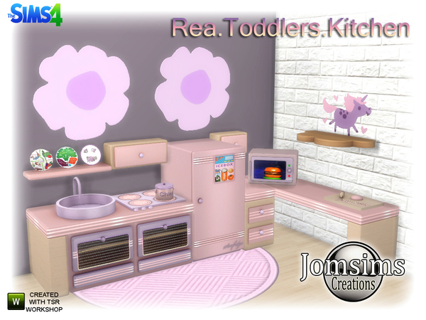 Rea Toddlers Kitchen by jomsims