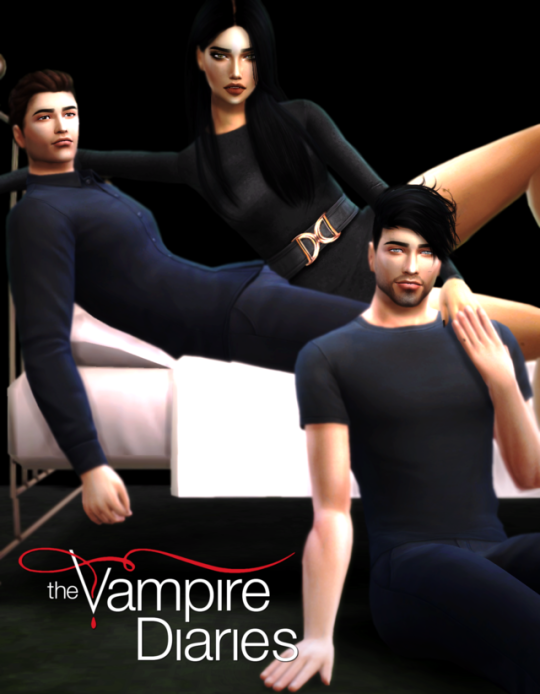 POSE Inspired Elena Stefan&Damon (THE VAMPIRE DIARIES) by katpose