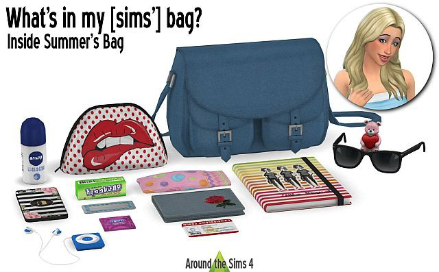 Whats in my bag? set 2 by Sandy