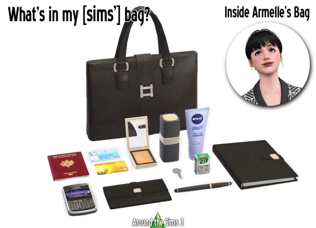 Whats in my [Sims] bag? - Armelle by Sandy