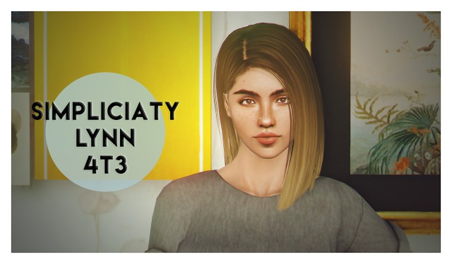 Simpliciatys beautiful lynn hair by deggdegg