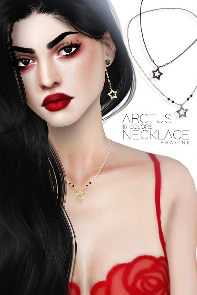Arctus Necklace by pralinesims