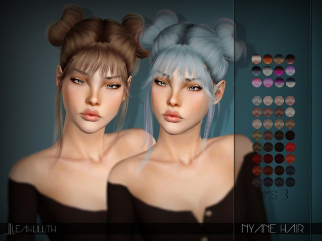 Nyane Hair by LeahLillith