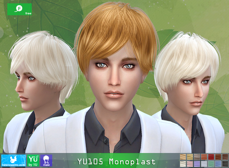 YU105 Monoplast free hairstyle by NewSea