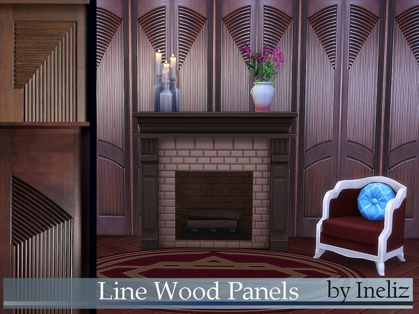 Line Wood Panels by Ineliz