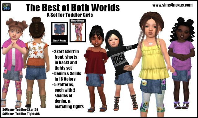 The Best of Both Worlds by Sims4Nexus