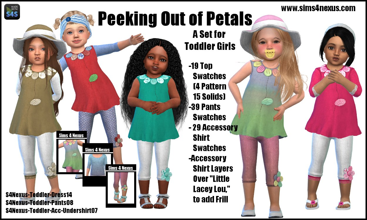 Clothing for Toddlers by sims4nexus
