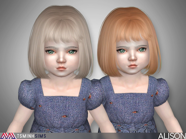 Alison ( Hair 18 - toddler) by TsminhSims