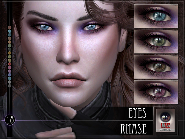 RNase Eyes by RemusSirion