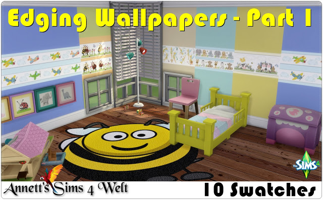 Edging Wallpapers - Part 1 by Annett85