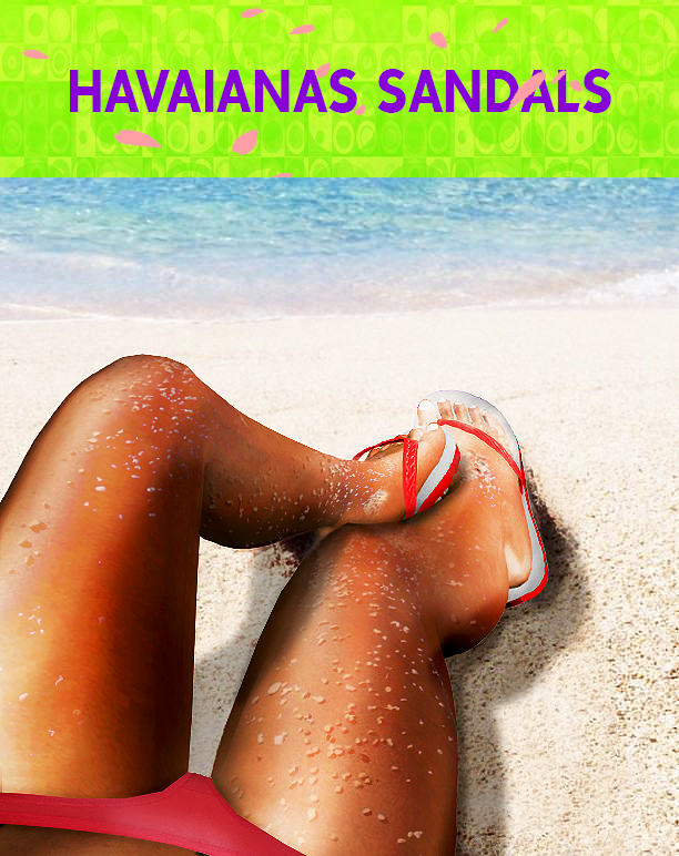 HAVAIANAS SANDALS by Coupurelectrique