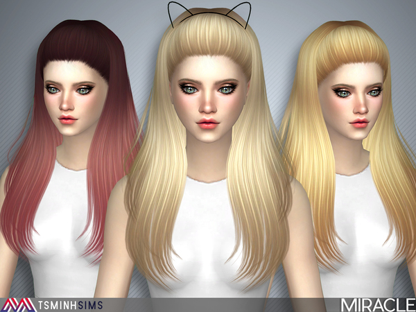 Miracle ( Hair 40 Set ) by TsminhSims