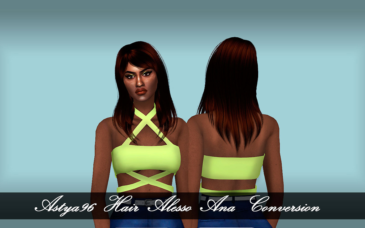 Alesso/Anto Ana Hair Conversion by Astya96