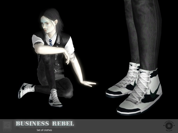 Business rebel sneakers by Shushilda