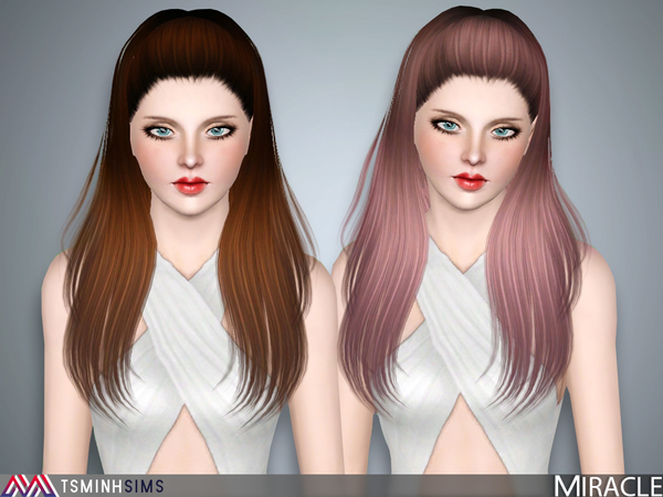 Miracle ( Hair 40 ) by TsminhSims
