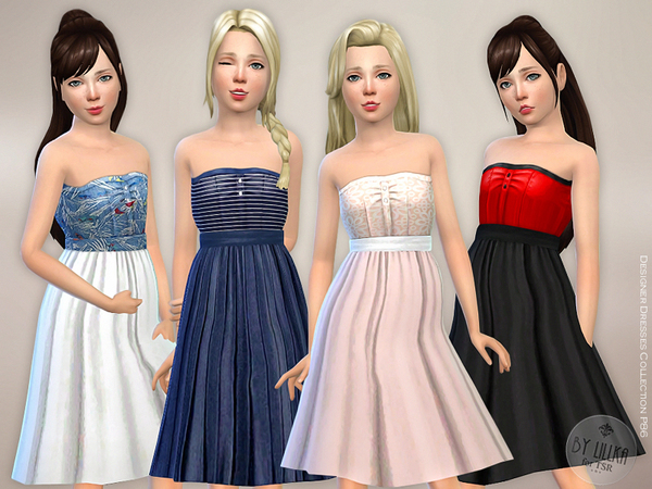 Designer Dresses Collection P86 by lillka