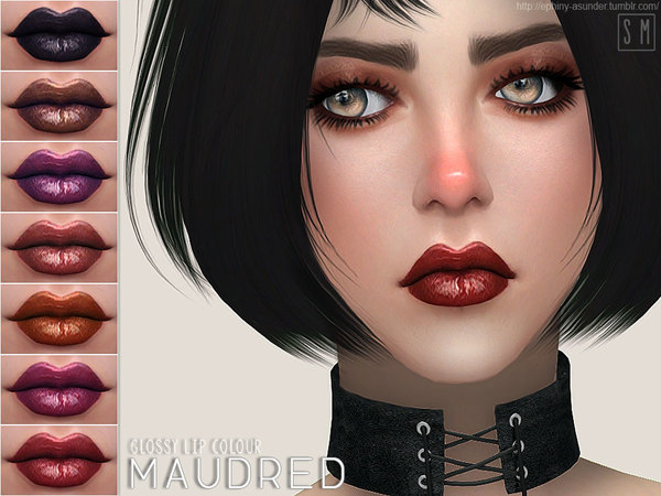 [ Maudred ] - Glossy Lip Colour by Screaming Mustard