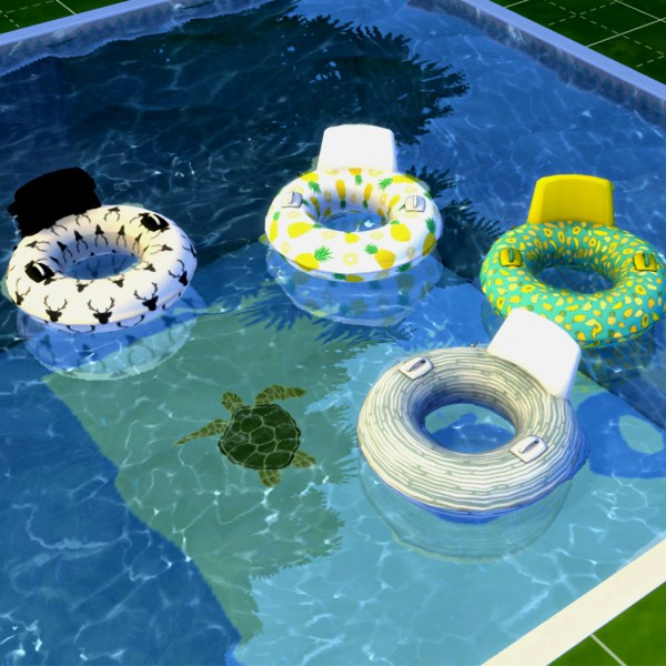 Pool Floats by Leo 4 Sims