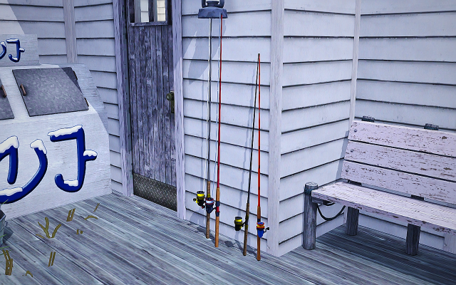 TS4 to TS3 Fishing Rod Conversion by Mspoodle1