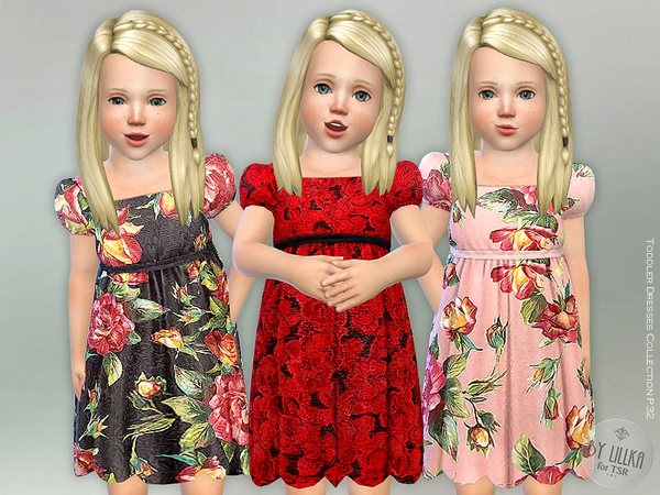 Toddler Dresses Collection P32 by lillka