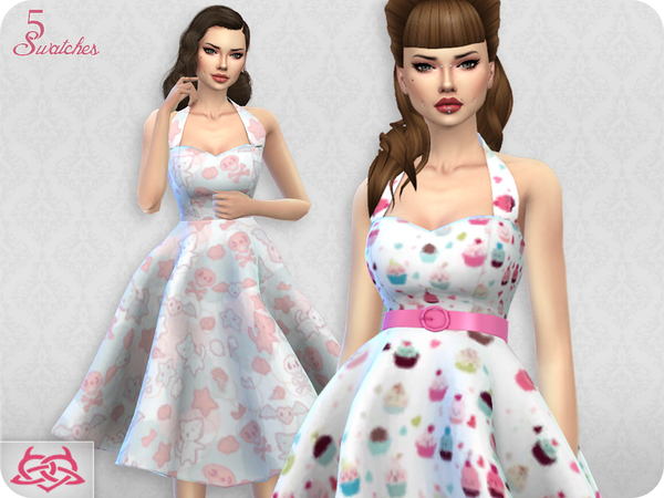 Sarah dress RECOLOR 3 (Needs mesh) by Colores Urbanos