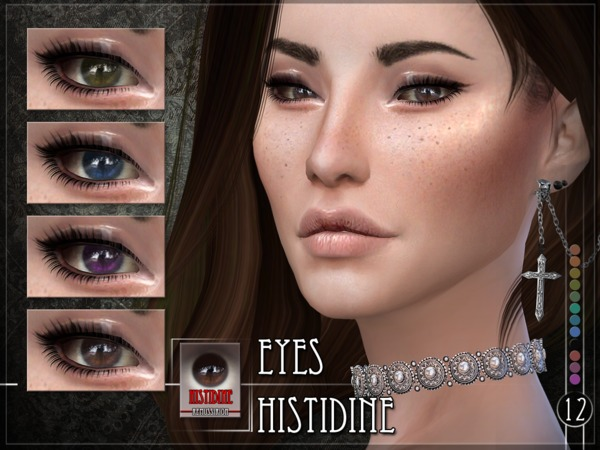 Histidine Eyes by RemusSirion
