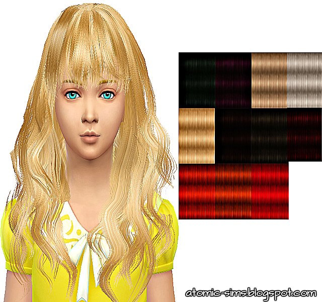StudioK Animatehair 65 Rika for kids retextured