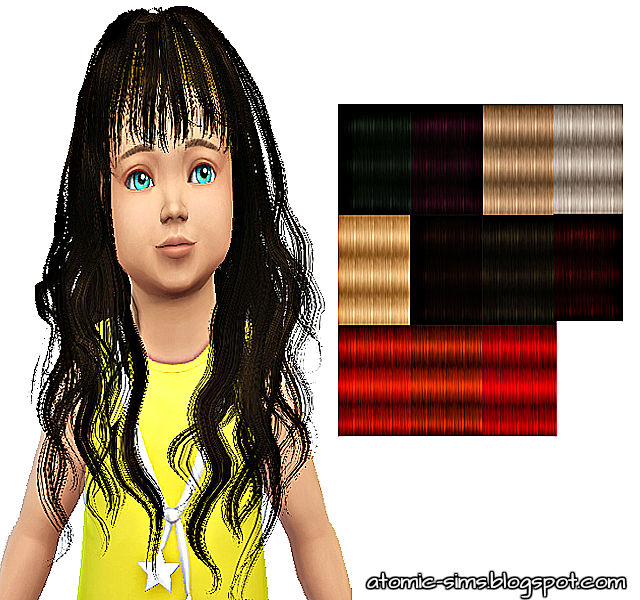 StudioK Animatehair 65 Rika for toddlers retextured