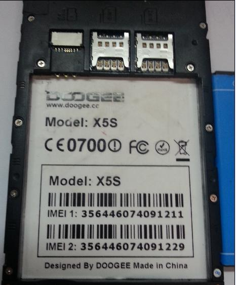:PAID: firmware DOOGEE ModelX5s MT6735M 0461346001501925713