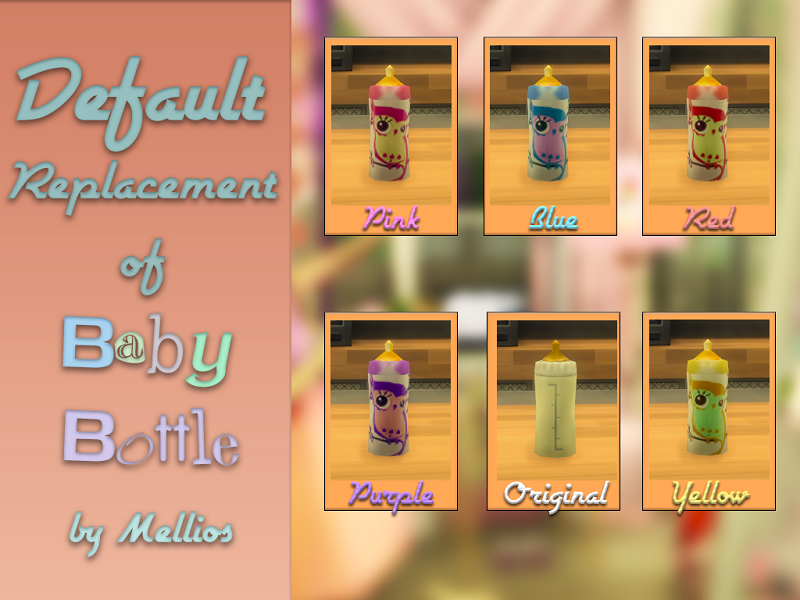 Default Replacement of Baby Bottle by Mellios