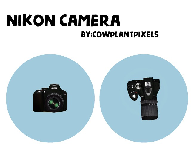 NIKON CAMERA by cowplantpixels