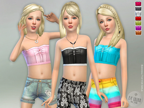 Bandeau Top for Girls by lillka