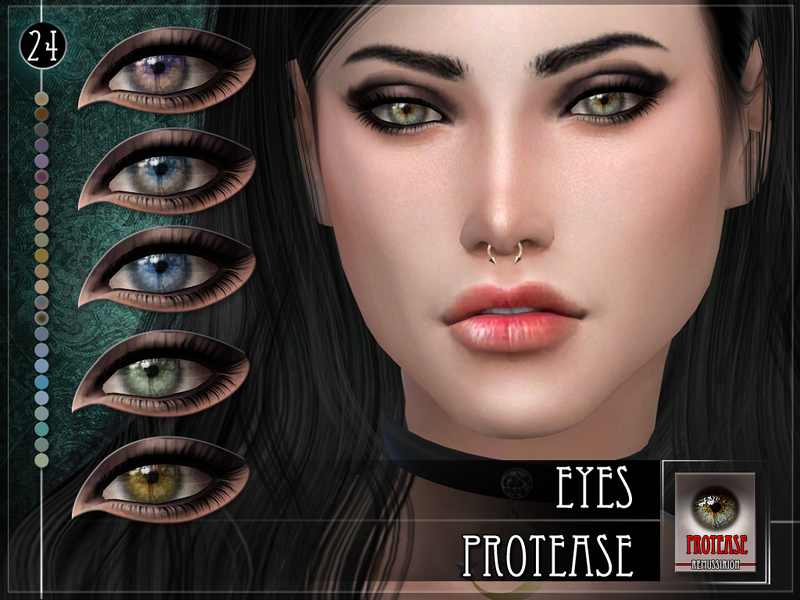 Protease Eyes by RemusSirion