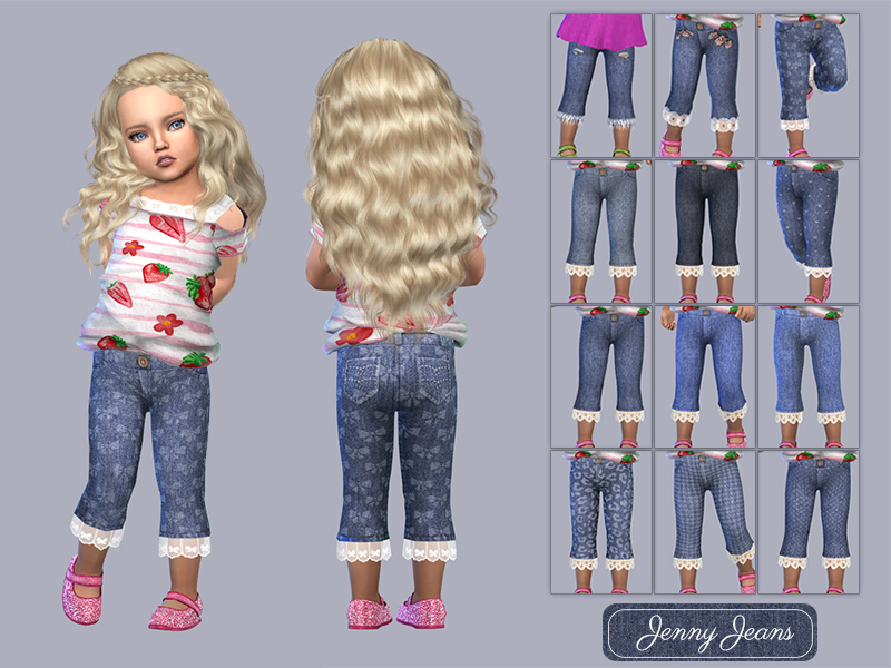 Toddler Jenny Jeans by Giulietta Sims