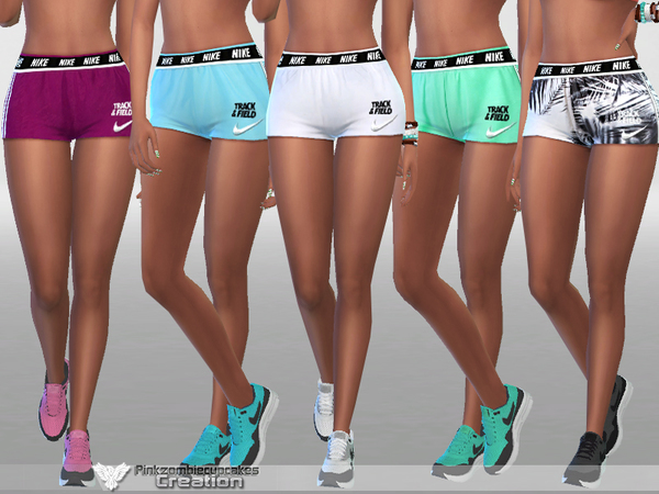 Summer Track and Field Nike 010 by Pinkzombiecupcakes