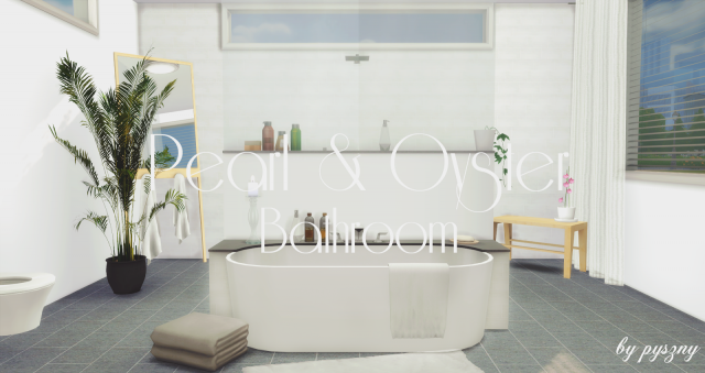 Peral & Oyster Bathroom by Pyszny