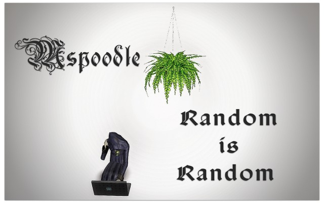 Random is Random Set by Mspoodle1