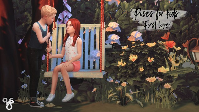 "Couple poses for kids ""First love"" by VieSilfinds"